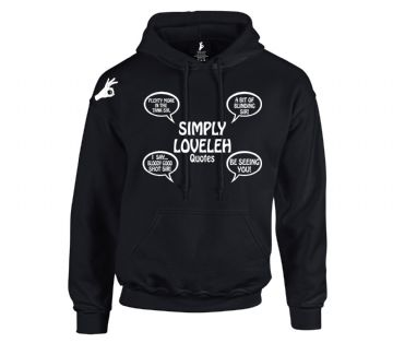 Official Simply Loveleh  Brotherhood Quotes Hoodie